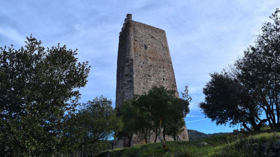 Castle of Santa Perpètua - Author Ramon Sunyer (2016)