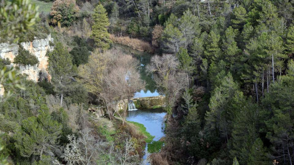 Espacio fluvial  Resclosa del molí d'en Soler - Autor Ramon Sunyer (2016)