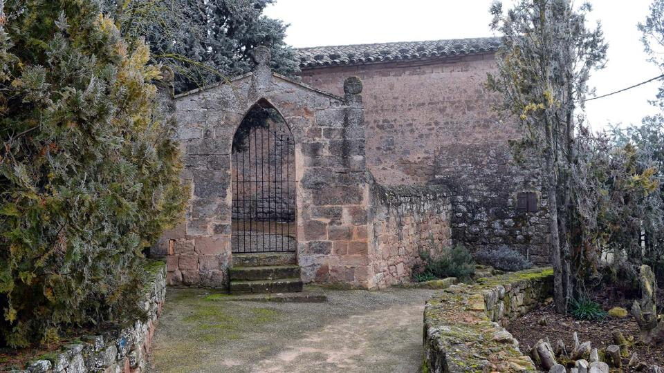 Hermitage of Sant Andreu - Author Ramon Sunyer (2016)