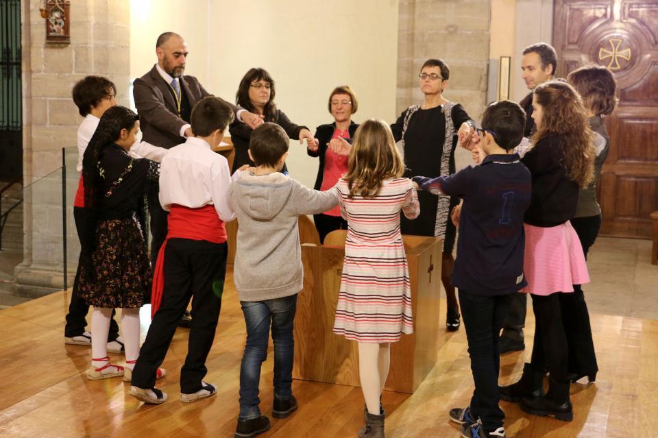 Per segona vegada, es ballarà la Metredansa en acabat de la Missa en honor a la patrona Santa Calamanda - Calaf