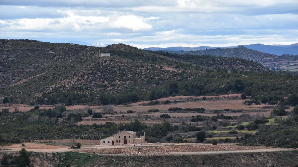 22.01.2017 mas  Castellnou d'Albarells -  Ramon Sunyer