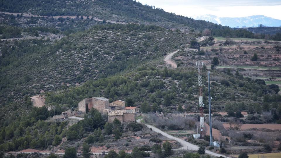 22.01.2017 vista  Castellnou d'Albarells -  Ramon Sunyer