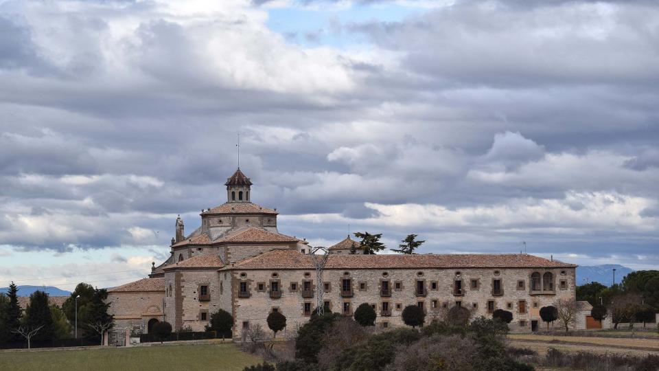 22.01.2017 monestir  Sant Ramon -  Ramon Sunyer
