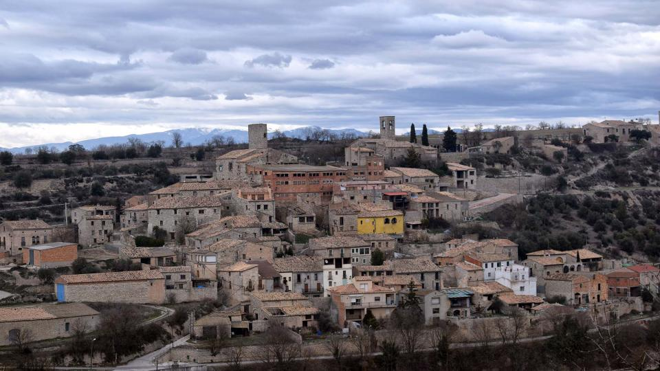 22.01.2017 Vista del poble  Gospí -  Ramon Sunyer