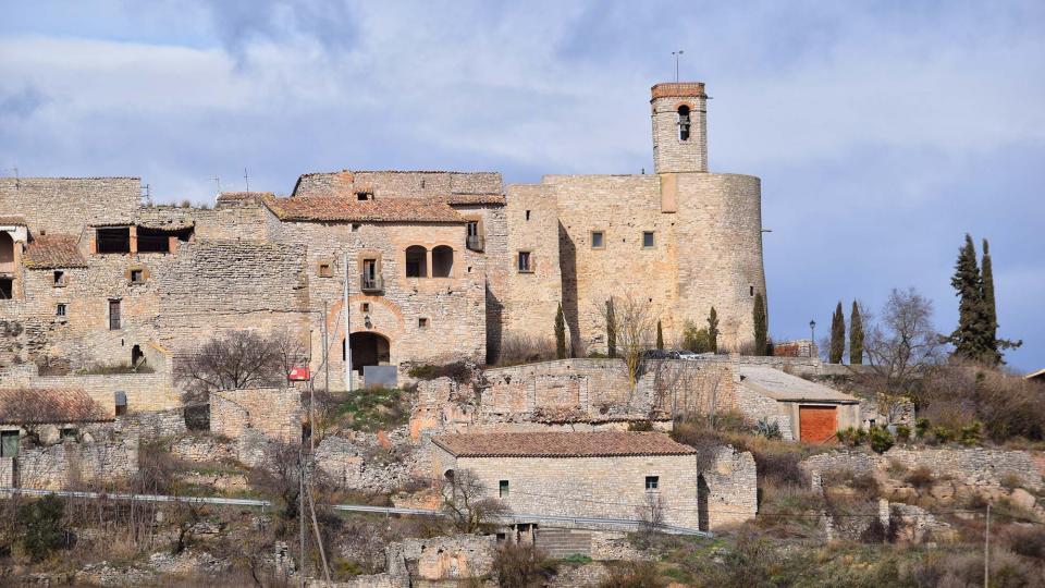 05.02.2017 Església de sant Pere  Montfalcó Murallat -  Ramon Sunyer