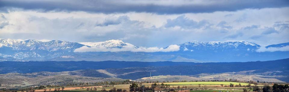 Panoràmica del Pirineu - Pujalt