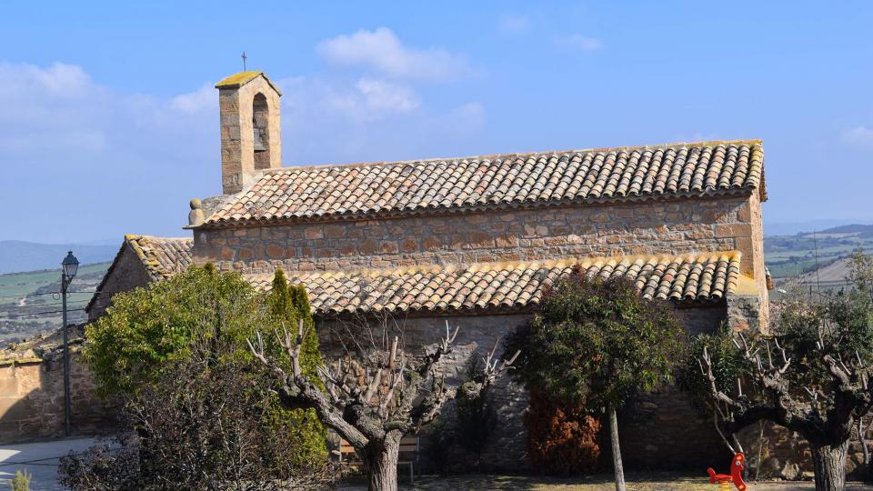 Church of Sant Sebastià i Sant Isidre - Author Ramon Sunyer (2017)