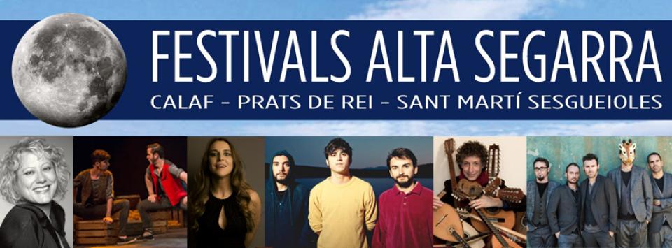 Festivals Alta Segarra posa a la venda les entrades per als sis concerts del juliol