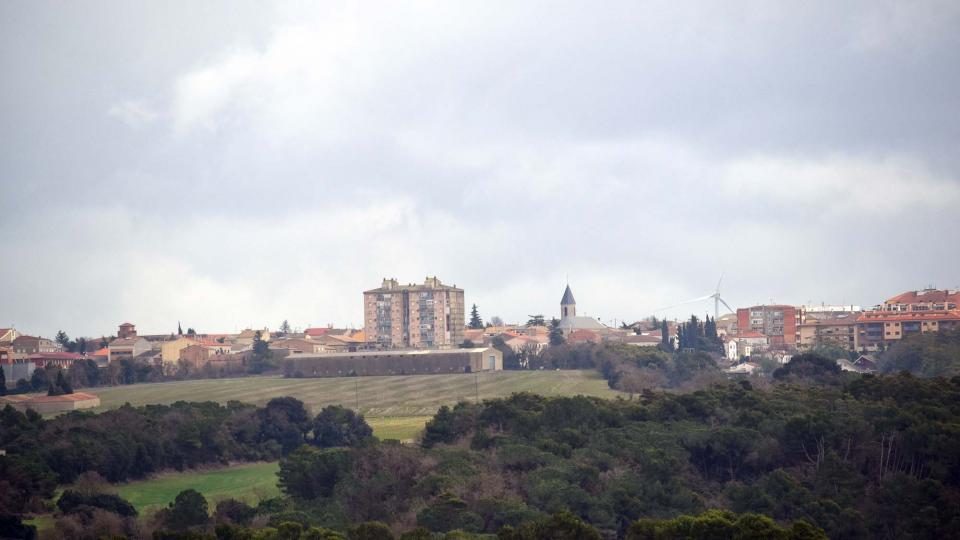 12.02.2017 Vista des d'Altadill  Sant Guim de Freixenet -  Ramon Sunyer