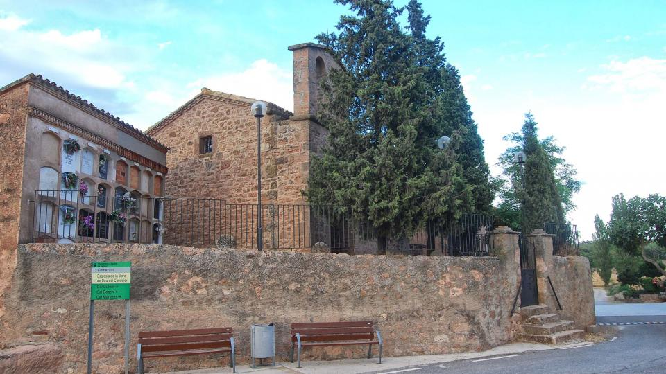 Church of Santa Maria de les Coromines - Author Ramon Sunyer (2016)