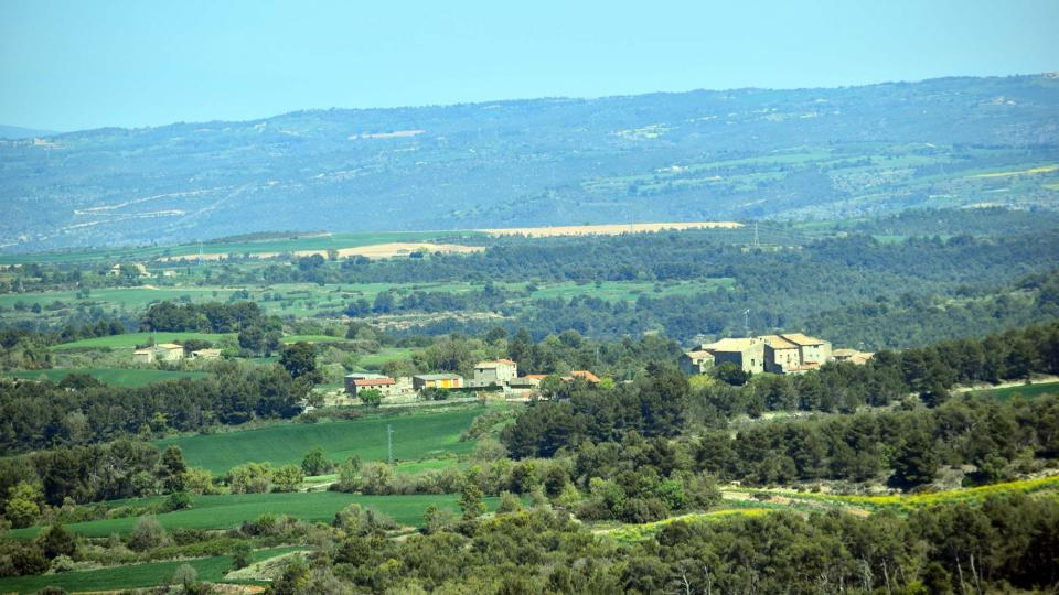 10.04.2017 Vista des d'Aguiló  La Pobla de Carivenys -  Ramon Sunyer