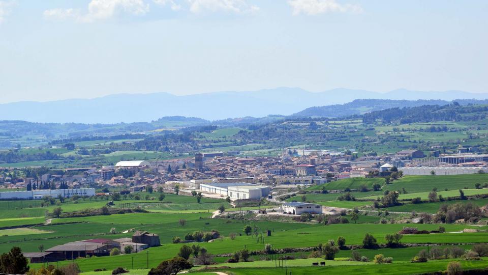 10.04.2017 Vista des d'Aguiló  Santa Coloma de Queralt -  Ramon Sunyer