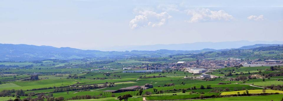 10.04.2017 panoràmica  Santa Coloma de Queralt -  Ramon Sunyer