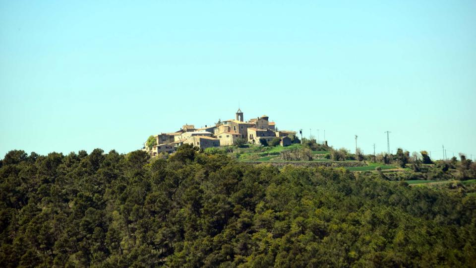 10.04.2017 Vista des d'Argençola  Bellmunt de Segarra -  Ramon Sunyer