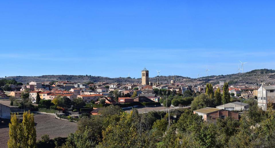 30.10.2016 panoràmica  Santa Coloma de Queralt -  Ramon Sunyer
