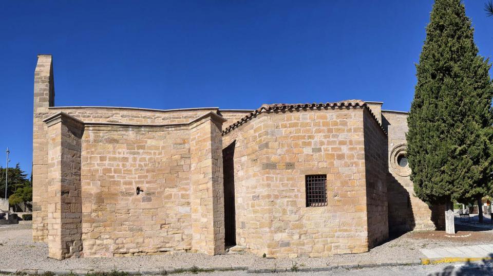 30.10.2016 panoràmica bell-lloc  Santa Coloma de Queralt -  Ramon Sunyer