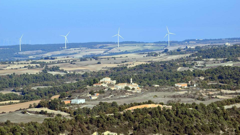 30.10.2016 Vista des de Savallà  La Cirera -  Ramon Sunyer