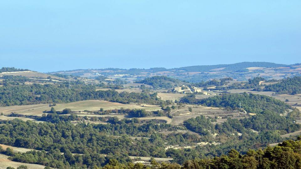 30.10.2016 Vista des de Savallà  Rauric -  Ramon Sunyer