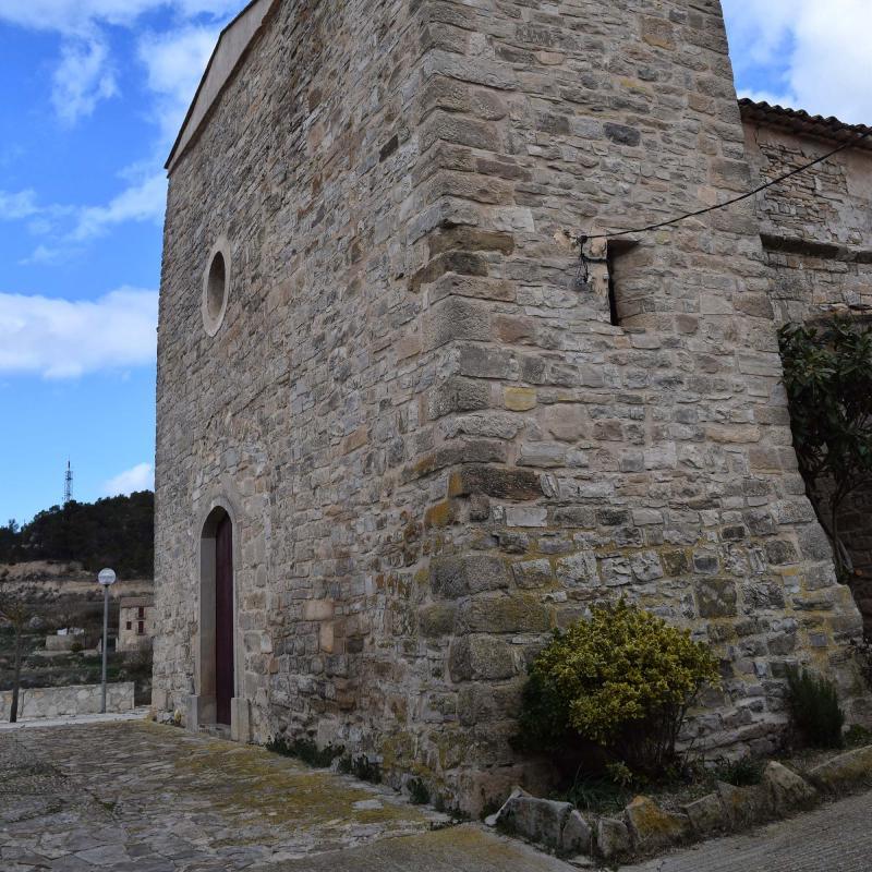 12.03.2017 Església de Sant Joan  Llorac -  Ramon Sunyer