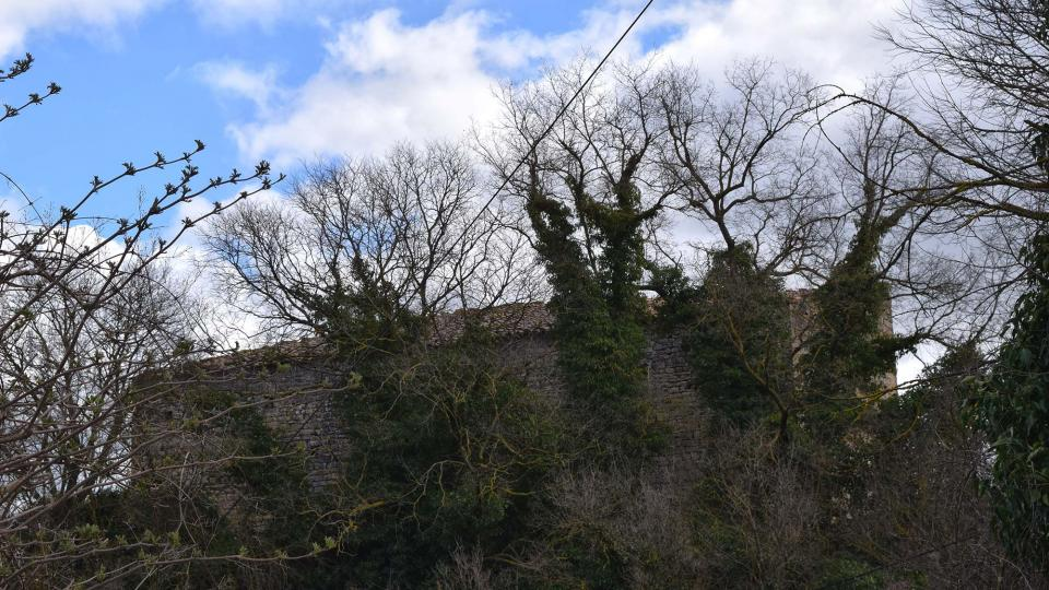 12.03.2017 castell  Llorac -  Ramon Sunyer