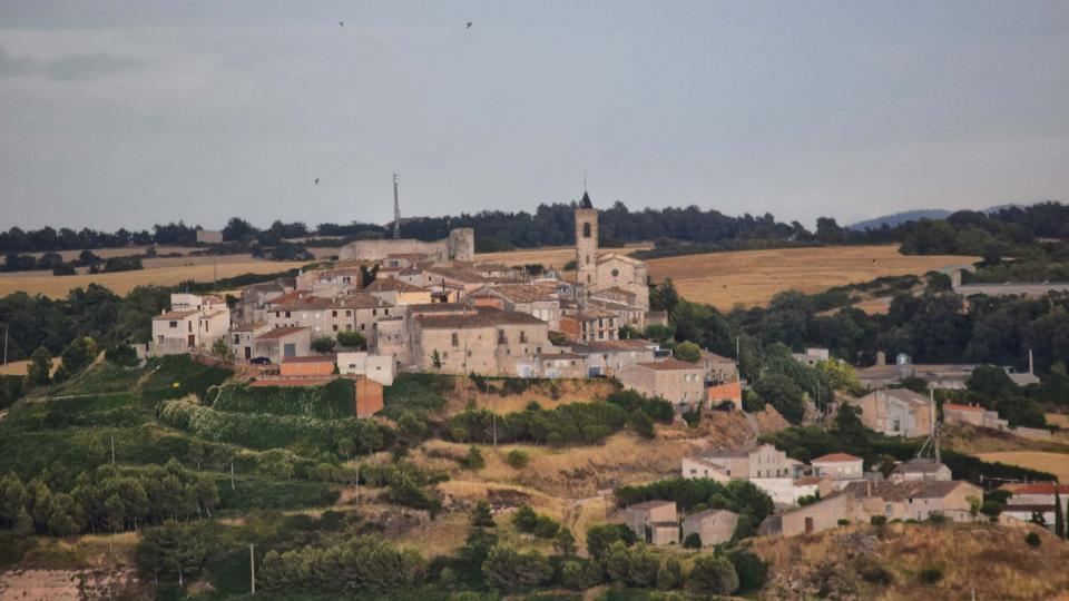 01.07.2017 Vista des de Santa Fe de Montfred  Aguiló -  Ramon Sunyer