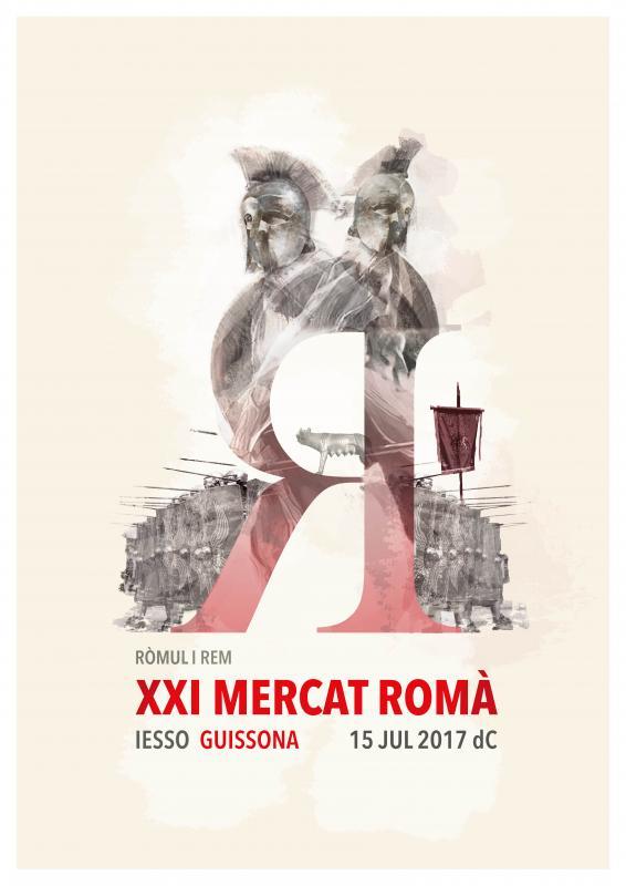 cartell XXI Mercat Romà de Iesso -