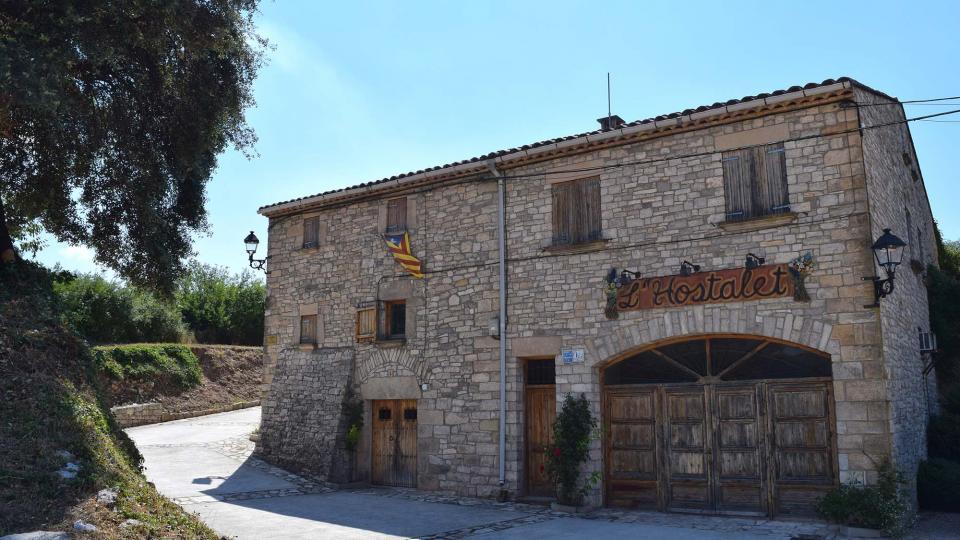 16.07.2017 L'Hostalet  La Sala de Comalats -  Ramon Sunyer