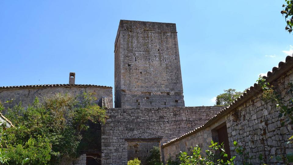 16.07.2017 Castell  La Sala de Comalats -  Ramon Sunyer