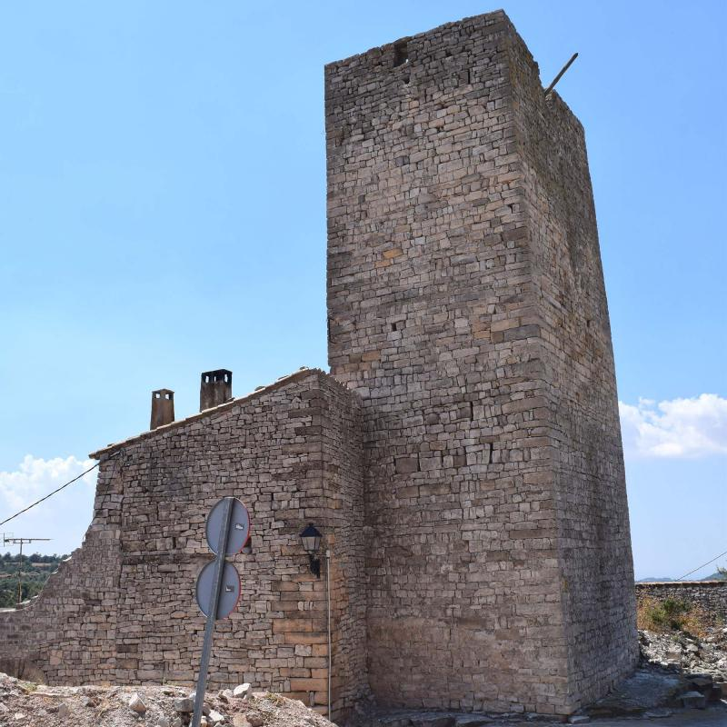 16.07.2017 torre del castell  Glorieta -  Ramon Sunyer