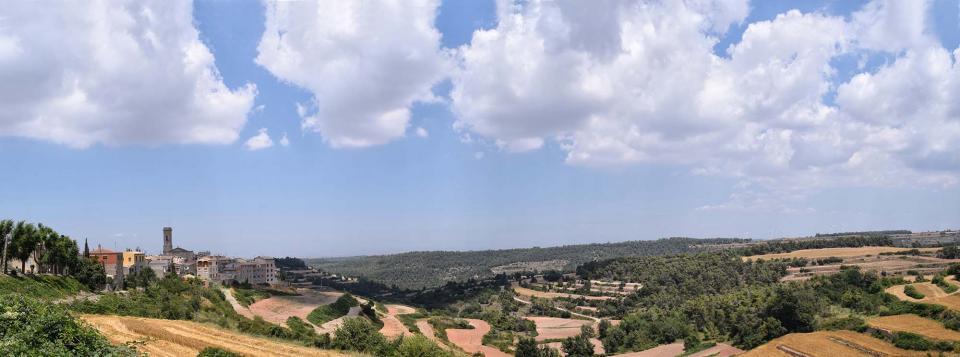 16.07.2017 panoràmica  Belltall -  Ramon Sunyer