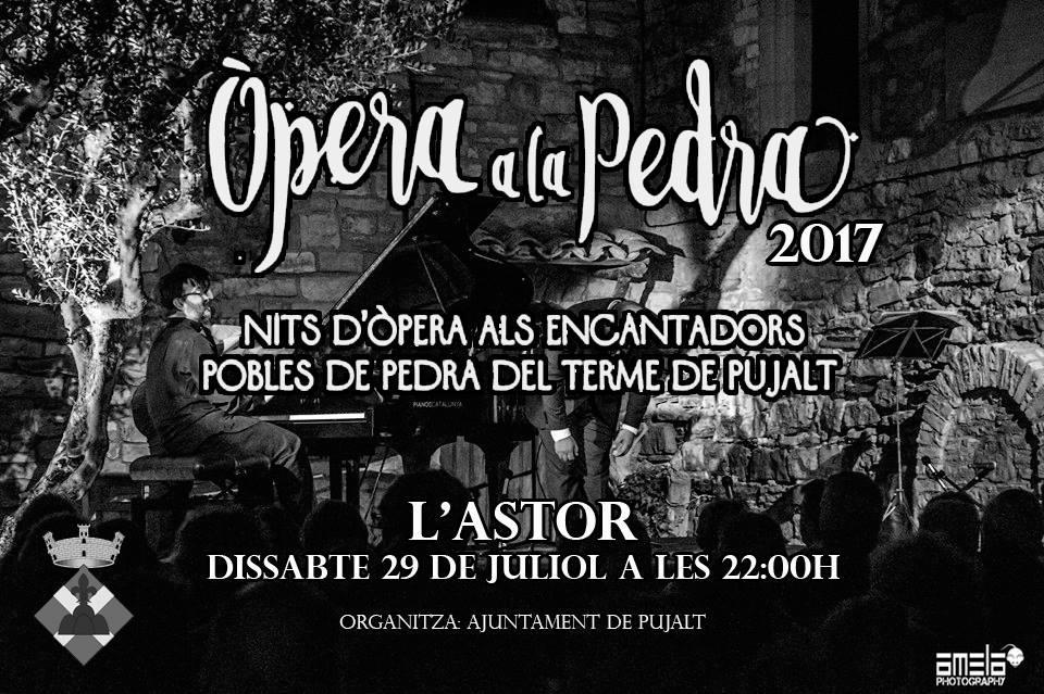 cartell Òpera a la Pedra 17