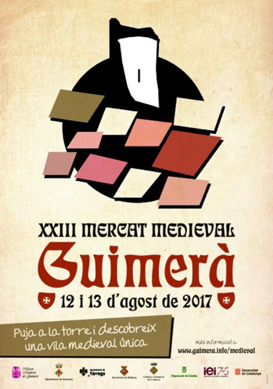 cartell XXIIIè Mercat Medieval de Guimerà - Guimerà