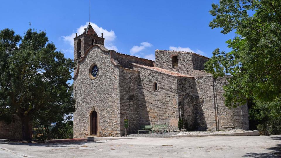 09.07.2017 Església Santa Maria  Freixenet de Segarra -  Ramon Sunyer