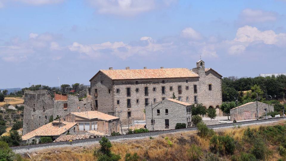 09.07.2017 convent  Sant Guim de la Rabassa -  Ramon Sunyer