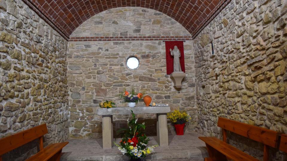 01.07.2017 capella de sant Magí  Santa Coloma de Queralt -  Ramon Sunyer