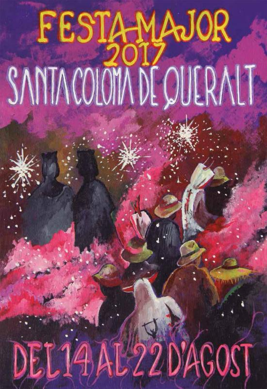cartell Festa Major de Santa Coloma de Queralt 2017