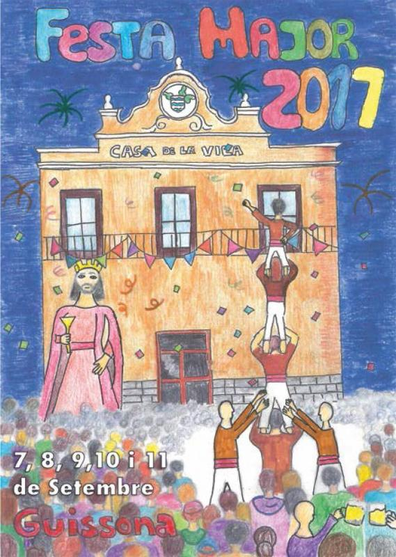 cartell Festa Major de Guissona 2017 - Guissona