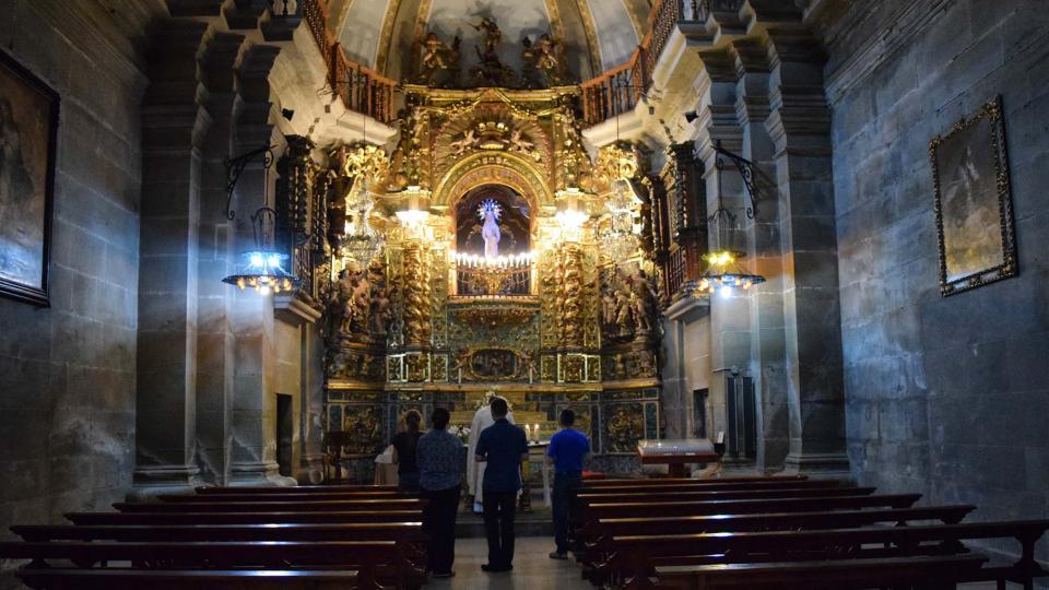 18.08.2017 Esgésia de Santa Maria capella del Claustre  Guissona -  Ramon Sunyer