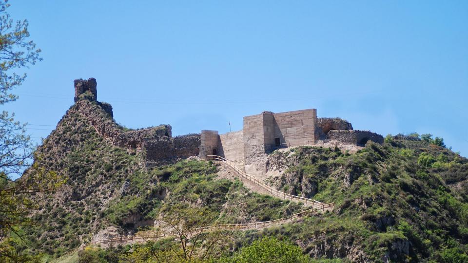 Castell de sant Esteve de Castellfollit de Riubregós -