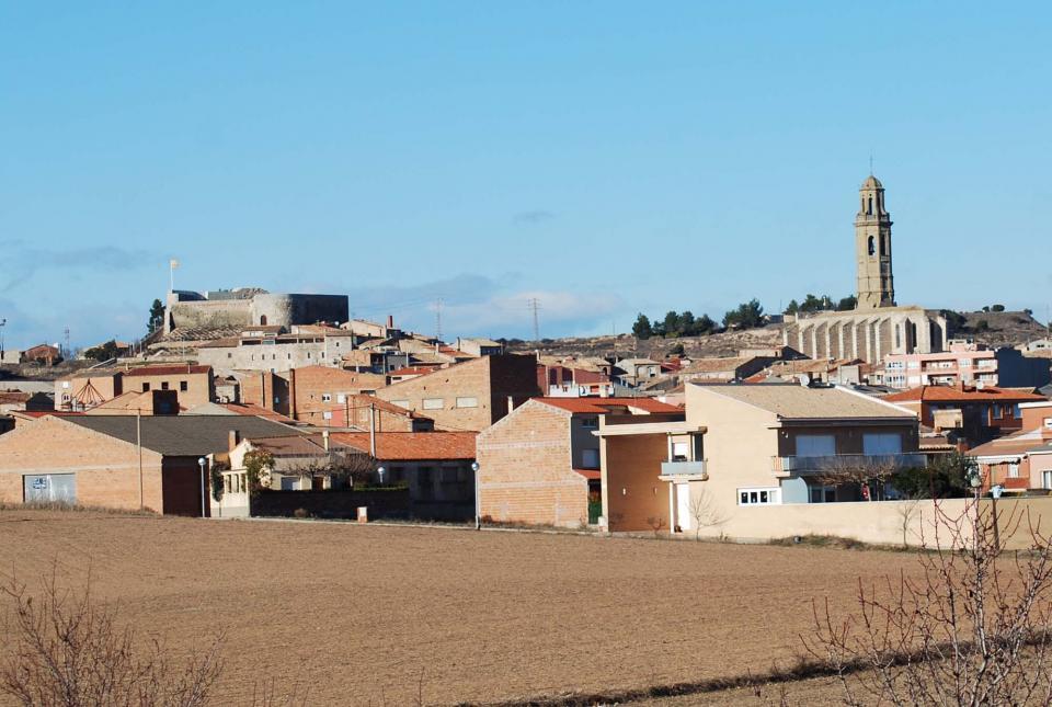 castell i església de sant Jaume de Calaf -