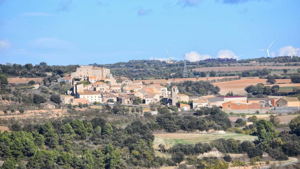 05.11.2017 Vista del poble  Santa Fe -  Ramon Sunyer