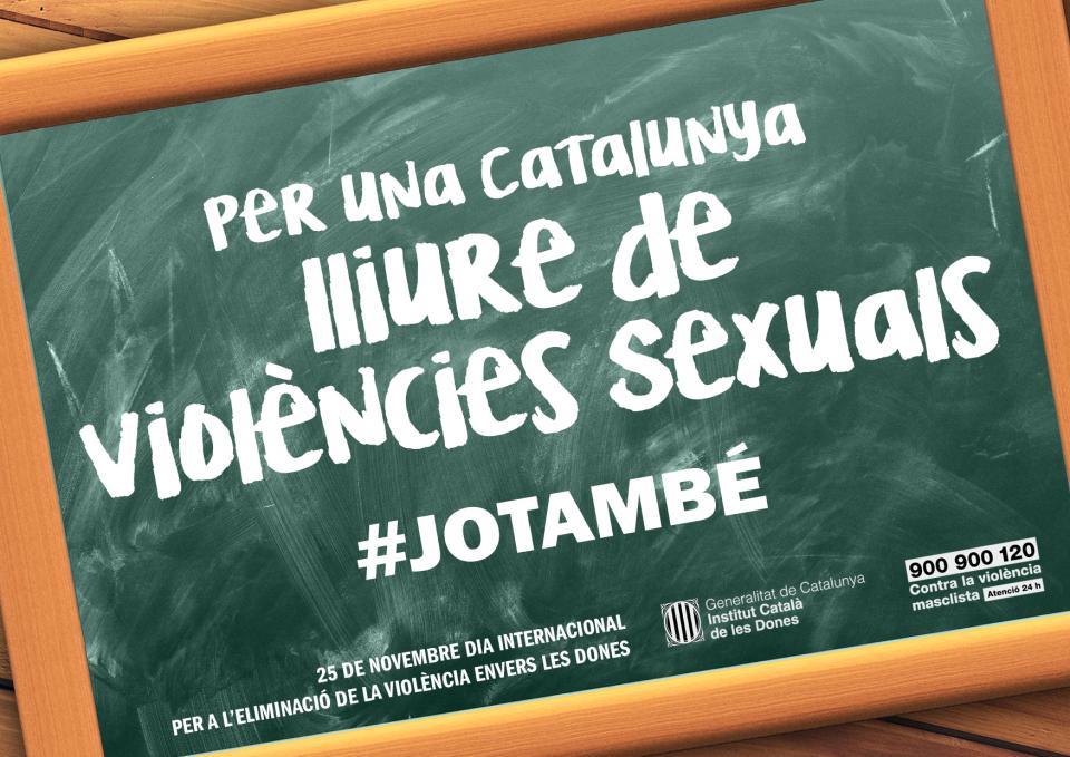 25N Dia internacional per a l'eliminació de la violència envers les dones Foto: dones.gencat -