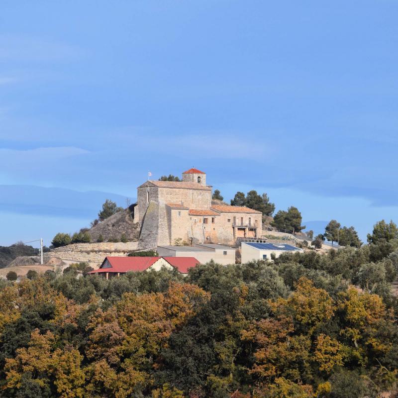 03.12.2017 Església de Sant Joan  Montornès de Segarra -  Ramon Sunyer