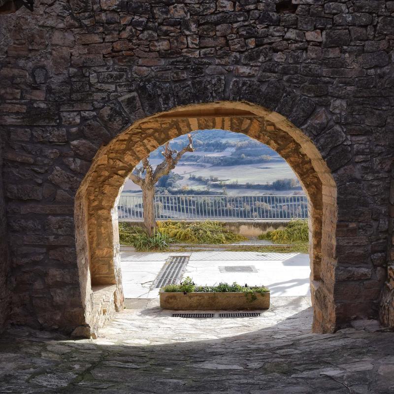 03.12.2017 portal  Montornès de Segarra -  Ramon Sunyer