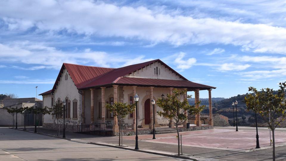 03.12.2017 Antigues escoles  Montornès de Segarra -  Ramon Sunyer