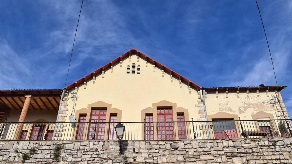 Espai  Antigues escoles - Autor Ramon Sunyer (2017)