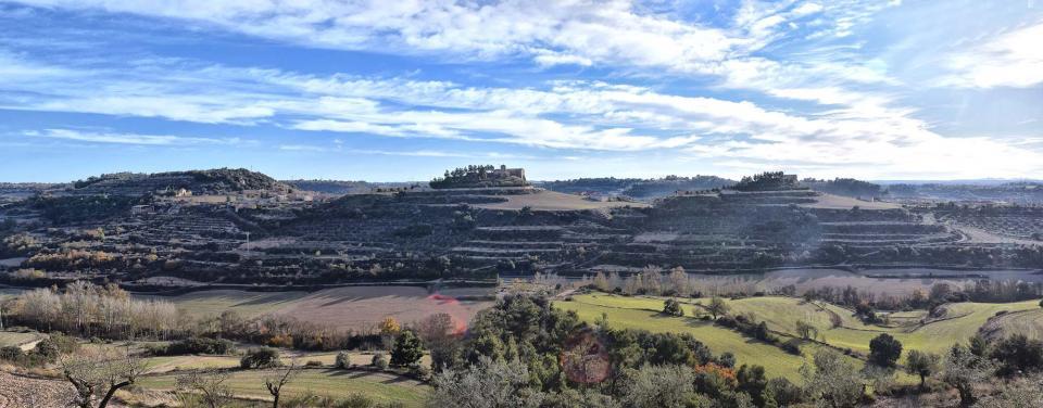 03.12.2017 panoràmica  Montornès de Segarra -  Ramon Sunyer
