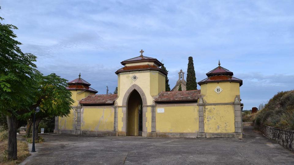 30.08.2017 cementiri  Montornès de Segarra -  Ramon Sunyer