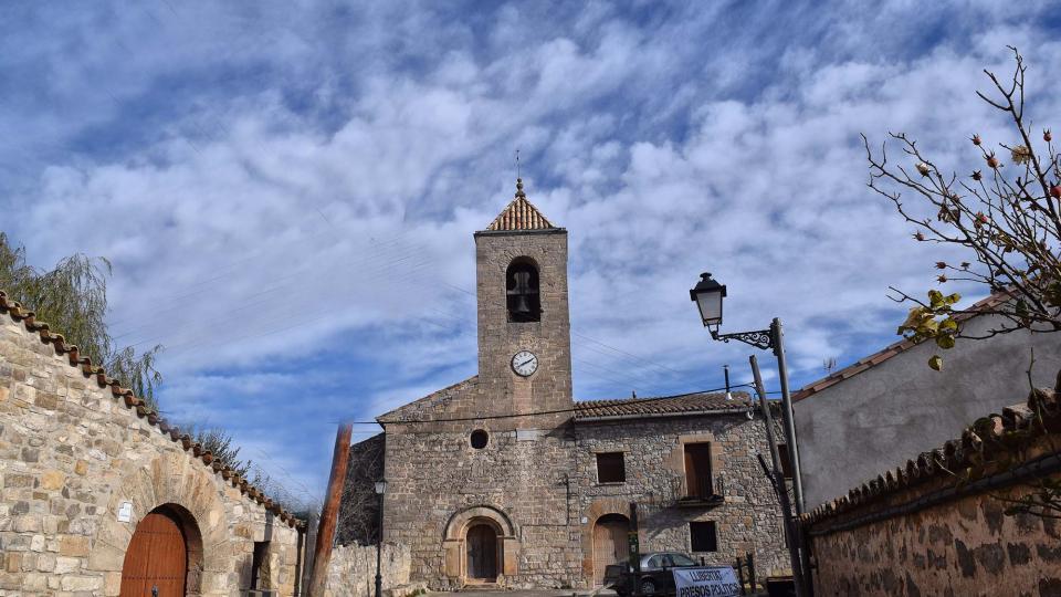 03.12.2017 Església de sant Pere  L'Ametlla de Segarra -  Ramon Sunyer