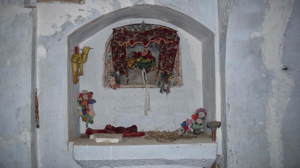 06.12.2017 Església de Sant Pere de mas Pujol  Les Cases de la Serra -  Ramon Sunyer